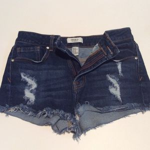 Forever 21 jean shorts.